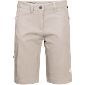 Jack Wolfskin Activate Track Shorts Dames, light beige